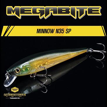 메가바이트 미노우 N35 SP 85mm(배스/쏘가리)